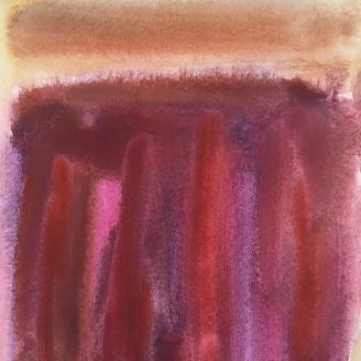 "Watercolour 8""x8"" framed"