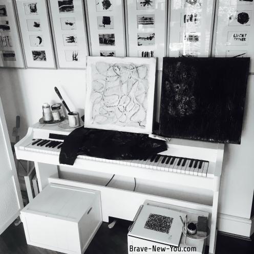 Lou's studio