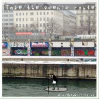 BNG on paddle board in Vienna