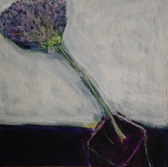 Blooming Allium
